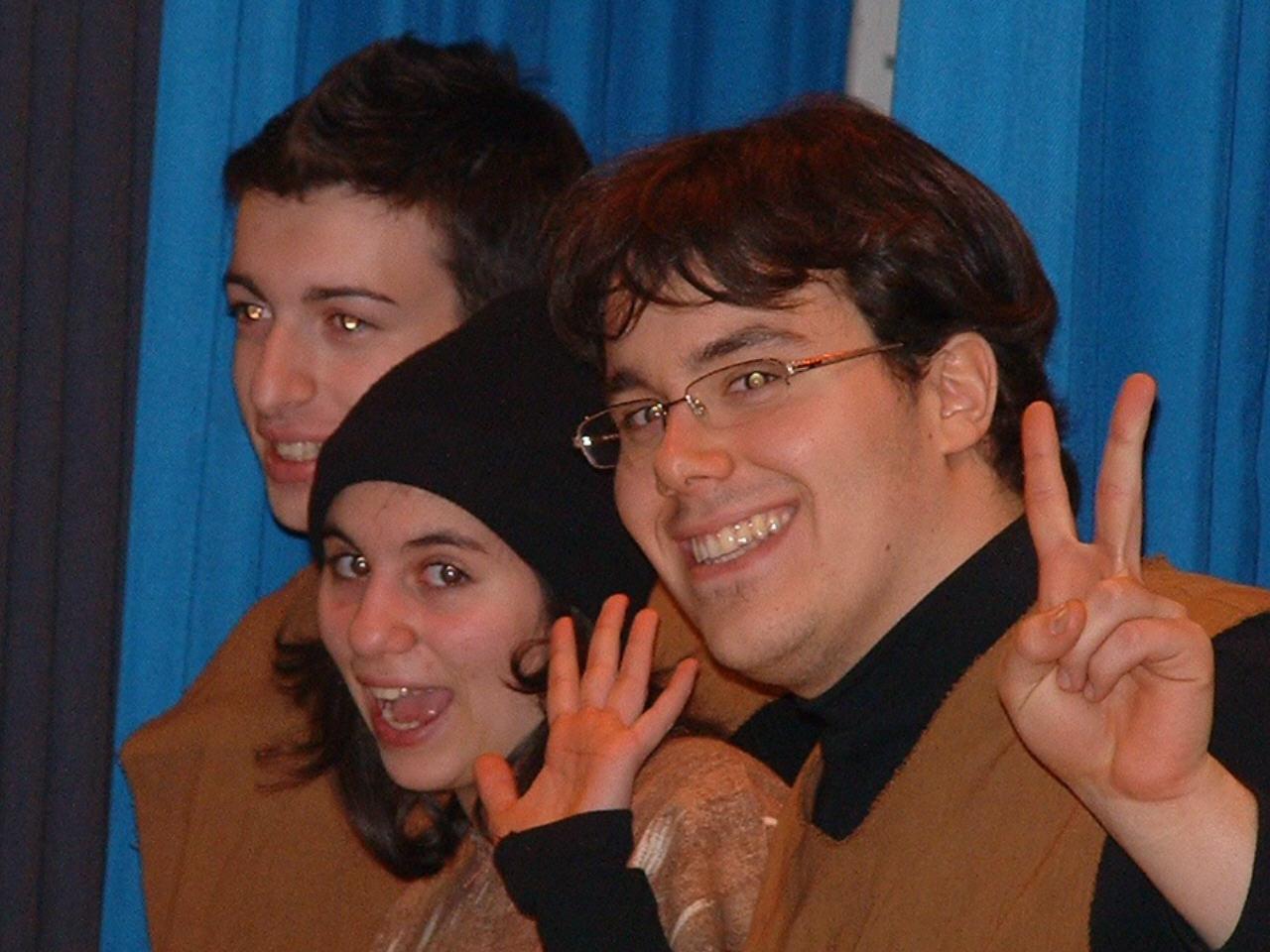 3 happy gremlins