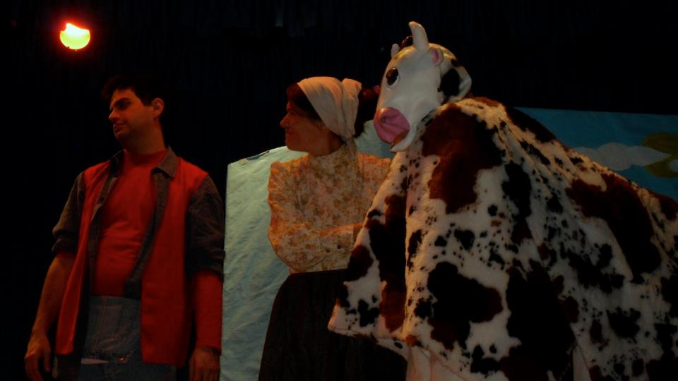 Jack,Mum and Cow